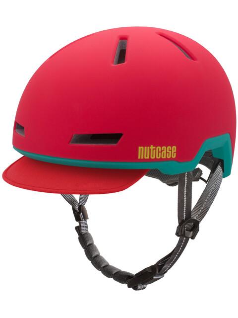 Nutcase Tracer Helmet Ember Red Matte